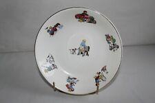 Belle assiette à soupe enfants porcelaine Digoin Sarreguemines Art déco