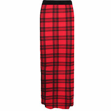 New Ladies Womens Gypsy Long Jersey Maxi Dress Skirt Ladies Skirt Size 8-26