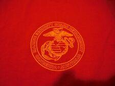 Vtg. USMC MARINE SECURITY GUARD DETACHMENT CANBERRA, AUSTRALIA L T-SHIRT US MADE