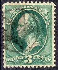 US # 184 (1879) 3c - Grade: XF- with FANCY CANCELLATION 'STAR' canc.
