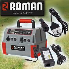 ROMAN PORTABLE DEEP CYCLE BATTERY POWER PACK 44AH AUXILARY 12V VOLT 522390
