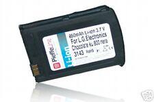 per lg ku800 ku 800 chocolate batteria Li-ion 850 mAh NERA