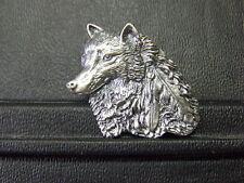 Pin Wolf mit Feder - 3 x 3 cm