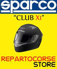 CASCO KART SPARCO MODELLO CLUB X1 NERO TAGLIA XS - 003319N