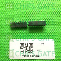15PCS TC4093BP Encapsulation:DIP,Quad 2 Input NAND Schmitt Triggers2