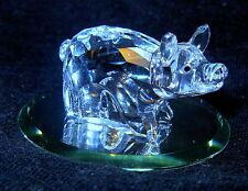 Swarovski Zodiac Pig 7693 000 006 Retired in Original Box
