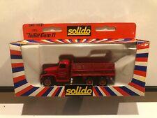 1/50 Solido 3135 gmc + zodiac toner gam ii made in France Steak Truck Red