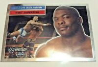 2006 Topps Chrome Heritage WWE Superstar Shelton Benjamin #44 Wresting Card