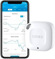 Govee Smart Hygrometer, Wireless Thermometer, Mini Bluetooth Humidity Sensor...