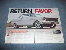 "1964 Chevy II Nova Hardtop RestoMod Article ""Return Favor"""