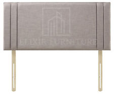 """Headboard  Turin Fabric 20"""" Side pannel Upholstered Bed - All Sizes & Colours"""