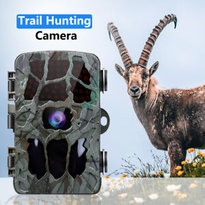 HD 1080P 20MP Trail Camera Home Scouting Wildlife IR Waterproof Motion Activated
