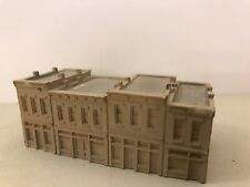 Z Scale Storefronts Buildings Unfinished