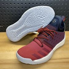 Adidas Harden Vol. 2 Ignite Red Ruby Basketball Shoes James AH2124 Men's Size 12