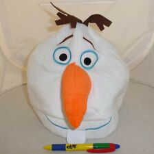 Cappello Peluche OLAF Pupazzo Neve FROZEN Giappone COSPLAY Nuovo