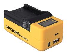 Ladegerät für Canon BP-727 BP-718 BP-709 BP-745 Legria Kamera LCD Charger Lader