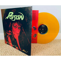 Poison- Open up and say Ahhhh- (Stunning GOLD Color Vinyl) Sealed.