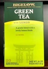 2 Pack Bigelow Green Tea with Lemon Tea Bags 20-Ct. Ea.