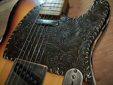 Telecaster Leather Style Pickguard