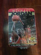 Rare 1996 Upper Deck Michael Jordan Bulls All-metal collector cards