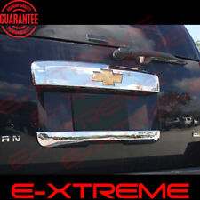 For 2007-10 11 12 13 2014 Chevy Suburban Chrome Liftgate Rear Hatch Accent Cover