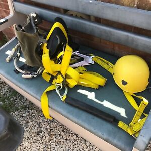 Safety Climbing harness with helmet