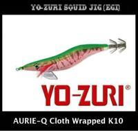 Yo-zuri Aurie-Q Cloth Wrapped Squid Jig Egi K10