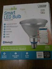 FEIT HomeBrite Bluetooth PAR38 Smart LED Flood Light Bulb NIB New