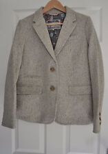 Joules Button Woolen Casual Coats & Jackets for Women
