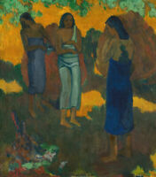 HUGE A1 size 59.4x84cm Canvas Print Unframed Paul Gauguin Three Tahitians