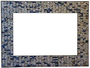 Zorigs Mirror Wall Art Décor – Handcrafted Decorative Wall Mirror, Silver,