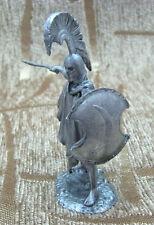 Metal Handamde Tin Figurine Collection Toy Sculpture Goplite Soldier 54 mm 1:32