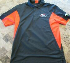 """Game Stop Power Up """" Gears of War 3 / Assasins Creed / MW3 Large Polo Shirt"""