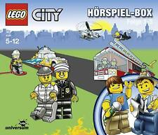 3 CDs * LEGO CITY HÖRSPIEL - FOLGE 1-3 - HÖRSPIELBOX # NEU OVP §