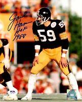 Jack Ham autographed signed inscribed 8x10 photo NFL Pittsburgh Steelers PSA COA
