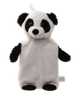 Pandarama 1L Hot Water Bottle with Plush Cover