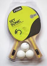 Table Tennis Bat Set Sonic 2 Bats & 3 Balls