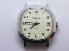 Vintage WATCH USSR POLJOT 2614.2Н 17j SOVIET Men`s mechanical WristWATCH