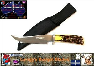 """10.5"""" Defender Xtreme Hunting Knife with Sheath"""
