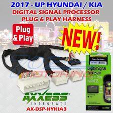 2017 - UP SELECT HUNDAI / KIA AX-DSP-HYKIA3 PLUG-N-PLAY T-HARNESS USE W/ AX-DSP