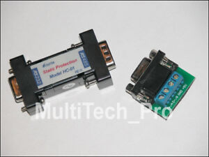 5 x Converter Adapter RS 232 (RS232) to RS 485 (RS485) NEU