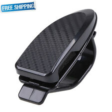Universal Car Auto Sun Visor Glasses Holder Clip Sunglasses Eyeglass Card BLACK