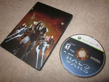 Halo Wars Limited Edition + SteelBook (Xbox 360/One/X) 2 ii collector NEAR MINT