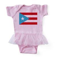 CafePress - Puerto Rico Flag - Baby Tutu Bodysuit