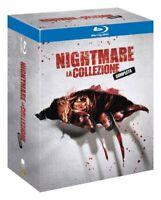 Nightmare La Collezione Completa 4 Blu Ray in Box Cofanetto Nuovo Sigillato N