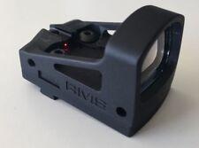 Mirino reflex MINI SHIELD RMS 4 ROSSO DOT & JP Kit di montaggio per GLOCK Pistola a coda di rondine