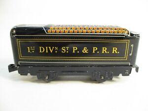 O Gauge Marx 551 1st Divn St PPRR Tender Litho X7497