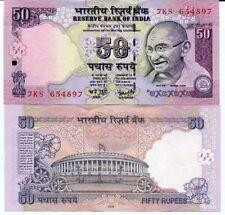 INDIA 50 RUPEES 2008 P 97 UNC