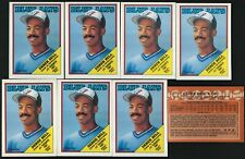 1988 OPC TORONTO BLUE JAYS DEREK BELL ROOKIE CARD  8 CARD LOT NR-MINT/MINT