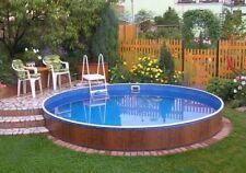 Innenfolie marmoriert Poolfolie Ersatzfolie Innenhülle Schwimmbadfolie 3,60x0,90